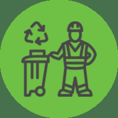 ikona odbioru odpadów