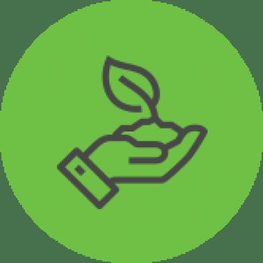 ikona pielęgnacji terenów zielonych