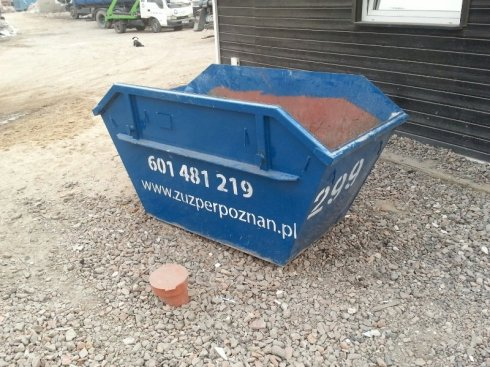 Kontener 1,5 m³ Typ - Mulda