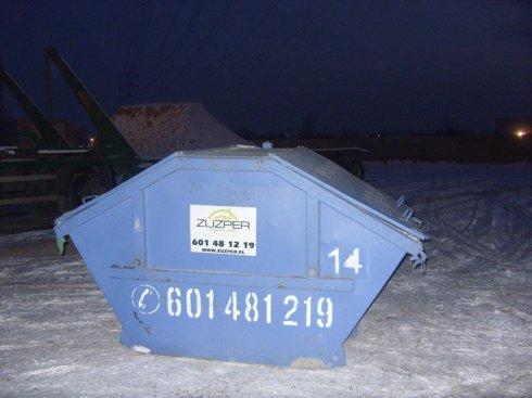 Kontener 3,5 m³ Typ - Mulda