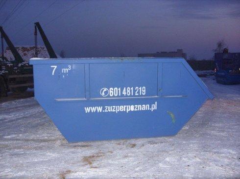 Kontener 7,0 m³ Typ - Mulda
